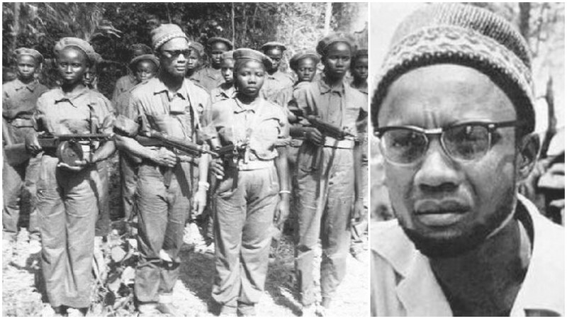 Amilcar Cabral, father of the independance of Bissau Guinea