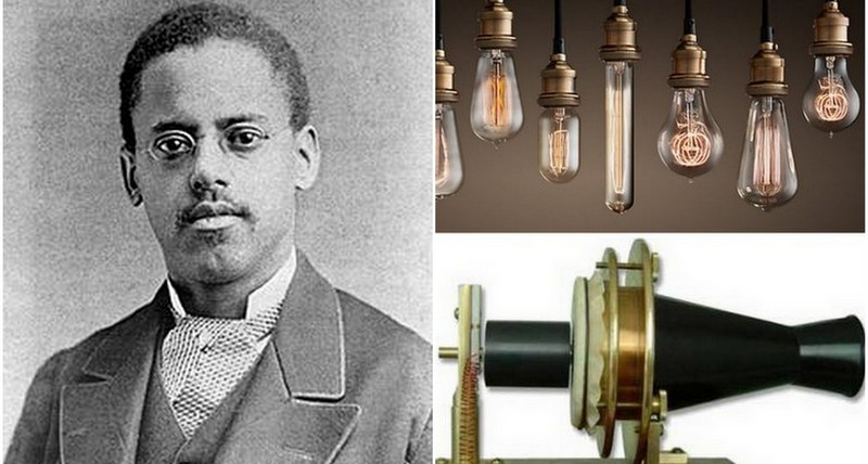 Lewis Latimer, co-inventor of the telephone and the durable light bulb