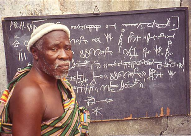 The writing systems in Africa