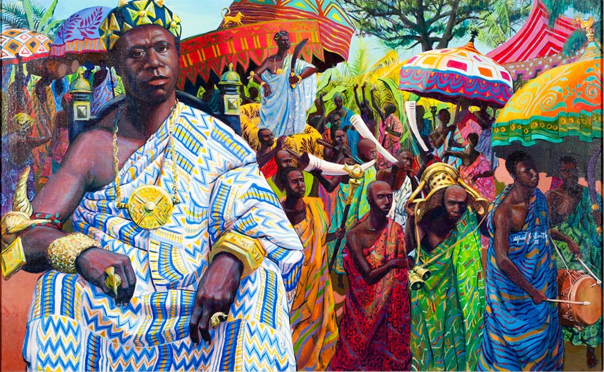Osei Tutu, the founder of the Asante empire