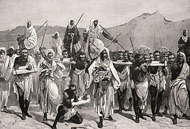 Baqt, the treaty that set off the Arab slave trade