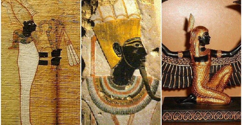 Why was black God's color in Africa?