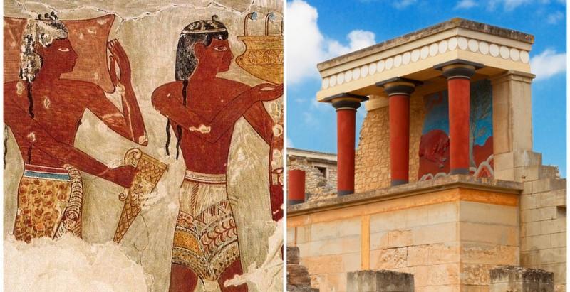 The Minoan civilization: Europe's first civilization was black